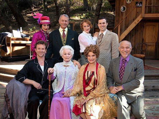 The full company, Royal Family at Theatricum, summer 2013.
