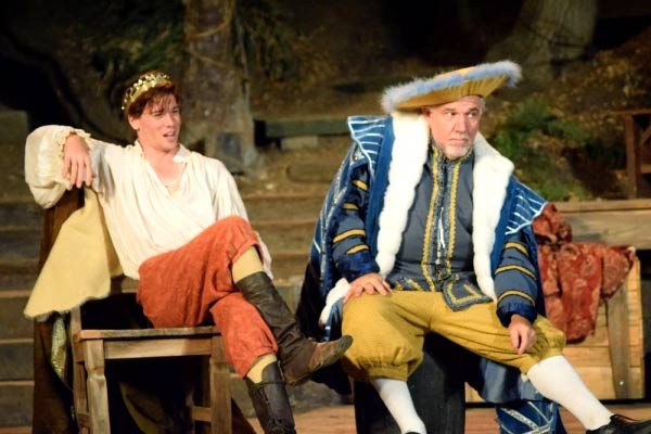 Alan Blumenfeld in Theatricum Botanicum's Equivocation.